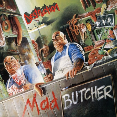 Destruction MAD BUTCHER (KELLY GREEN VINYL) Vinyl Record