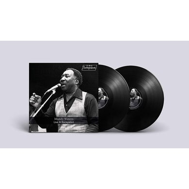Muddy Waters LIVE AT ROCKPALAST Vinyl Record