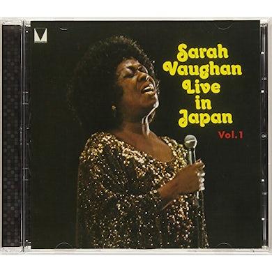 Sarah Vaughan LIVE IN JAPAN 1 CD