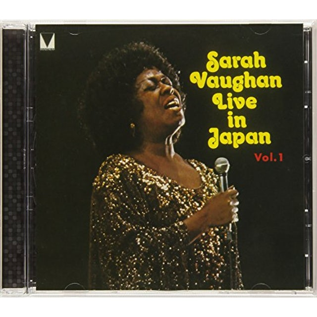 Sarah Vaughan LIVE IN JAPAN 1 CD