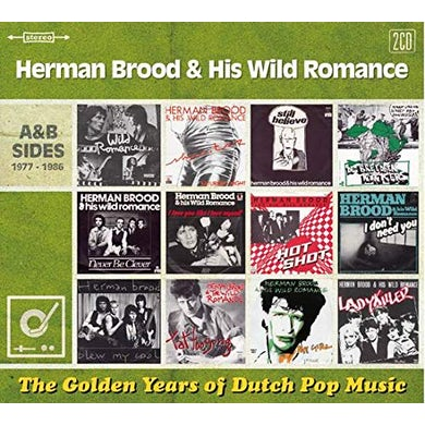 Herman Brood & His Wild Romance GOLDEN YEARS OF DUTCH POP MUSIC CD