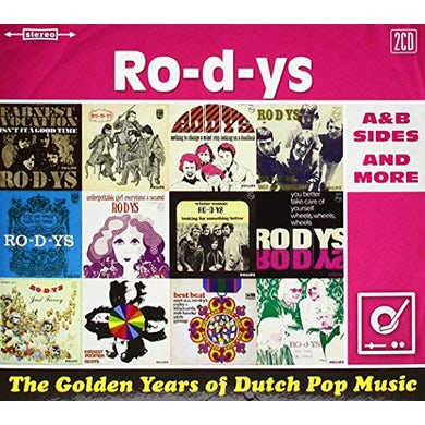 Ro-D-Ys GOLDEN YEARS OF DUTCH POP MUSIC CD
