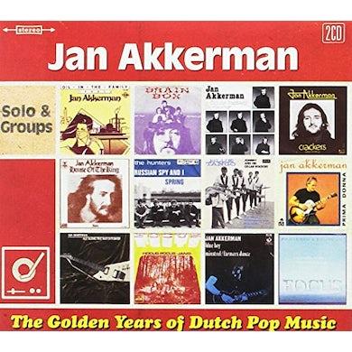 Jan Akkerman GOLDEN YEARS OF DUTCH POP MUSIC / SOLO & GROUPS CD