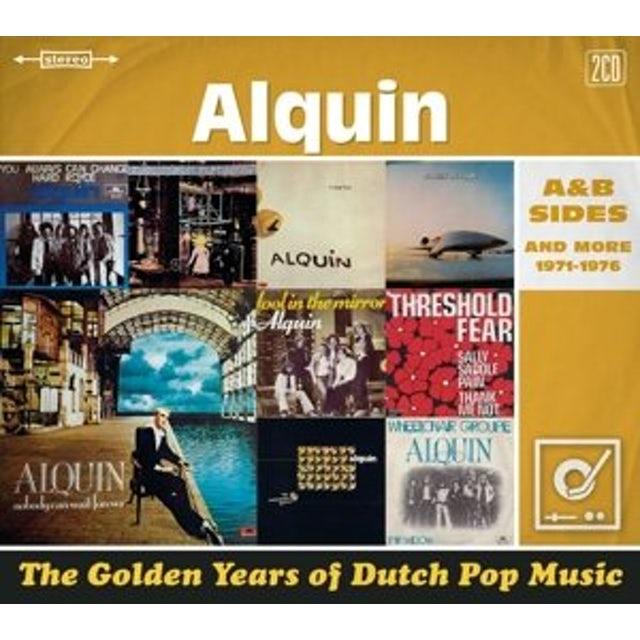 Alquin GOLDEN YEARS OF DUTCH POP MUSIC CD