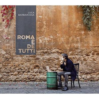 Luca Barbarossa ROMA E DE TUTTI Vinyl Record