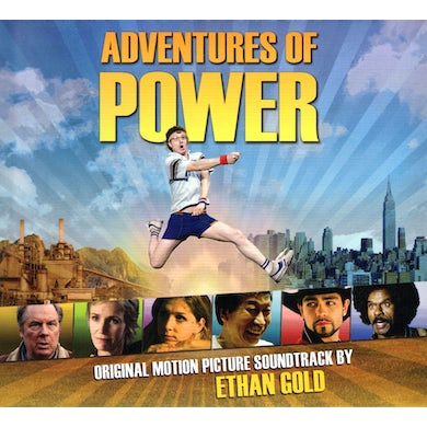 Ethan Gold ADVENTURES OF POWER SOUNDTRACK CD