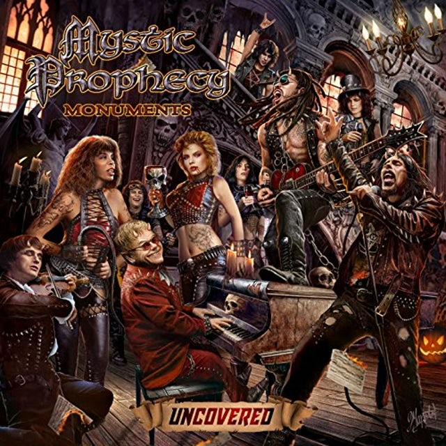 Mystic Prophecy MONUMENTS CD