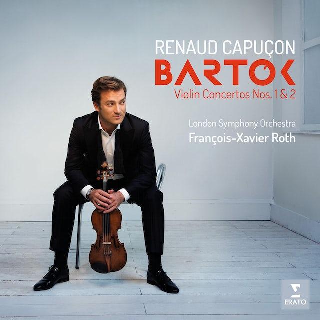 Renaud Capucon BARTOK: VIOLIN CONCERTOS NOS. 1 & 2 CD