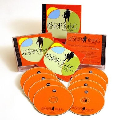 Lester Young COMPLETE STUDIO SESSIONS ON VERVE CD