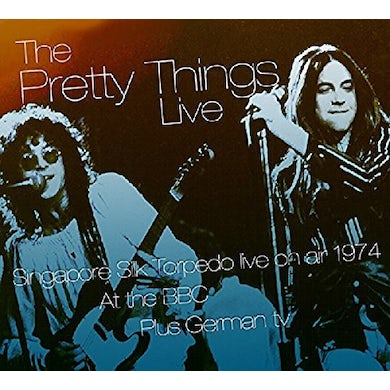 The Pretty Things LIVE ON AIR AT THE BBC & OTHER TRANSMISSIONS 74-75 CD