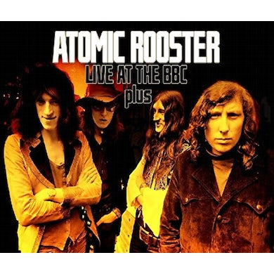 Atomic Rooster LIVE AT THE BBC & GERMAN TV CD