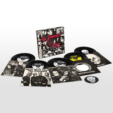 The Damned STIFF SINGLES 1976 - 1977 Vinyl Record Box Set
