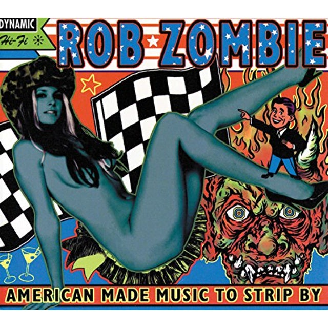 Rob Zombie AMERICAN MADE MUSIC TO STRIP BY Vinyl Record