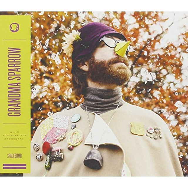 Grandma Sparrow HIS PIDDLETRACTOR ORCHESTRA Vinyl Record