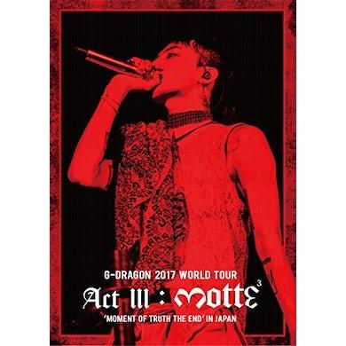 2017 WORLD TOUR (ACT 3. M.O.T.T.E) Blu-ray