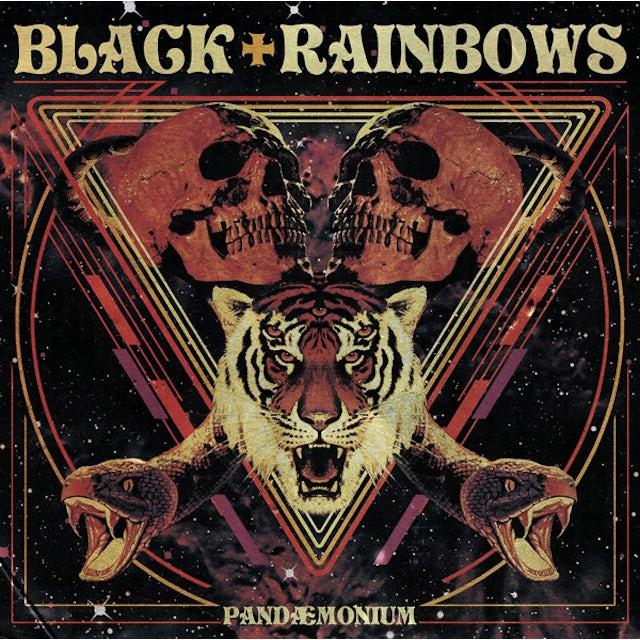 BLACK RAINBOWS PANDAEMONIUM CD