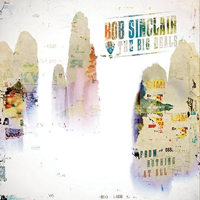 Bob Sinclair FROM NOTHING AT ALL CD