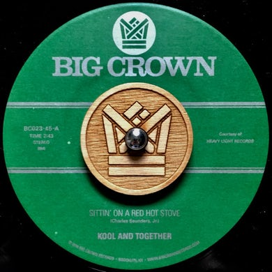 Kool & Together SITTIN ON A RED HOT STOVE / NASSAU BEAT Vinyl Record