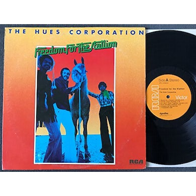 Hues Corporation FREEDOM FOR THE STALLION Vinyl Record