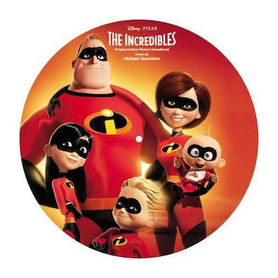 Michael Giacchino INCREDIBLES / Original Soundtrack Limited Picture Disc Vinyl Record