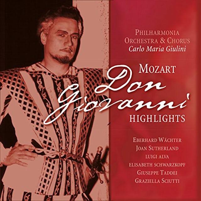 W.A. Mozart DON GIOVANNI HIGHLIGHTS Vinyl Record