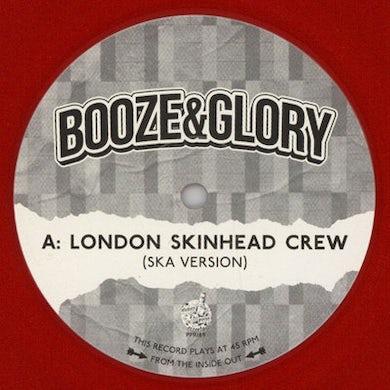 Booze & Glory LONDON SKINHEAD CREW Vinyl Record