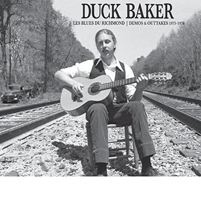 Duck Baker LES BLUES DE RICHMOND: DEMOS & OUTTAKES 1973-1979 Vinyl Record