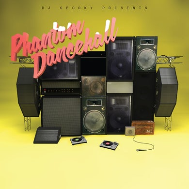 Dj Spooky Presents PHANTOM DANCEHALL Vinyl Record