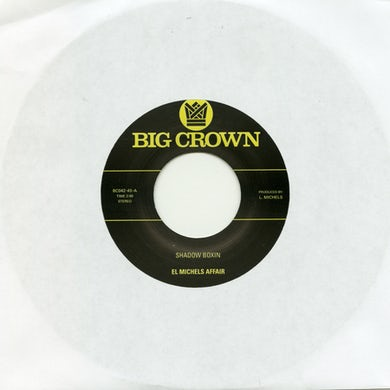 El Michels Affair SHADOW BOXING / IRON MAIDEN Vinyl Record