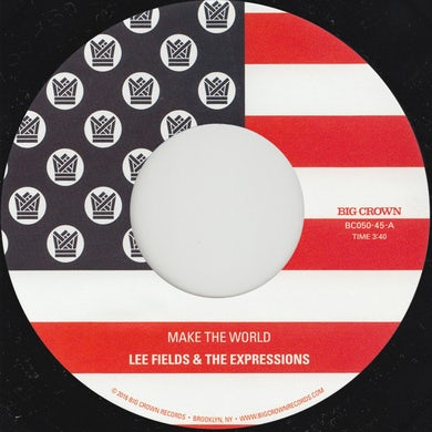 Lee Fields MAKE THE WORLD Vinyl Record