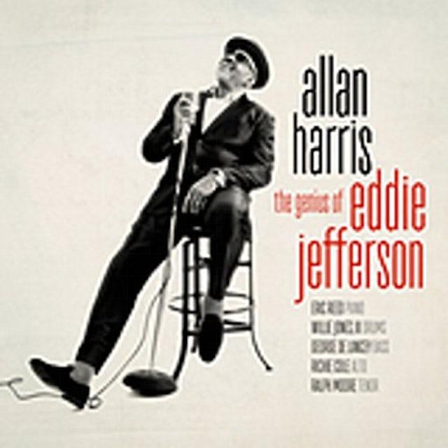 Allan Harris GENIUS OF EDDIE JEFFERSON CD