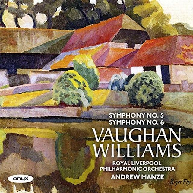 Andrew Manze VAUGHAN WILLIAMS: SYMPHONIES NOS.5 & 6 CD