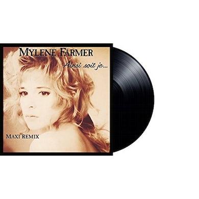 Mylène Farmer AINSI SOIT JE Vinyl Record