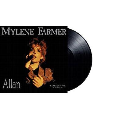 Mylène Farmer ALLAN Vinyl Record