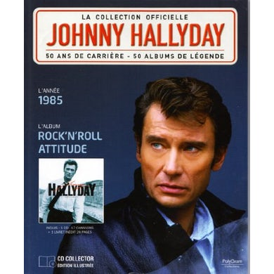 Johnny Hallyday ROCK N ROLL ATTITUDE Vinyl Record