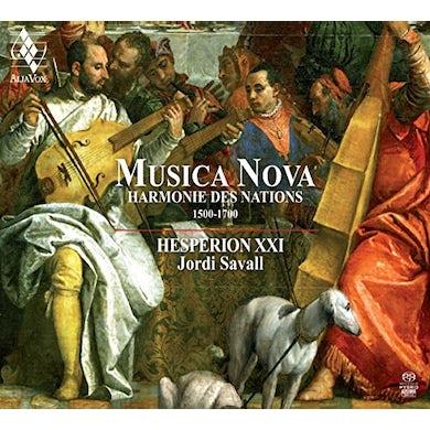 Jordi Savall MUSICA NOVA Super Audio CD