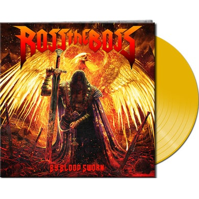 Ross The Boss BY BLOOD SWORN - Limited Edition 180 Gram Yellow Colored Vinyl Record