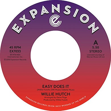 Willie Hutch EASY DOES IT / KELLY GREEN Vinyl Record