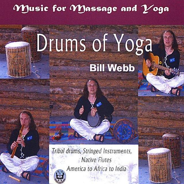 Bill Webb DRUMS OF YOGA CD