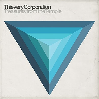 Thievery Corporation TREASURES FROM THE TEMPLE Vinyl Record