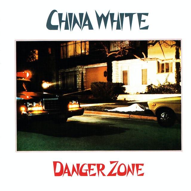 China White DANGERZONE Vinyl Record
