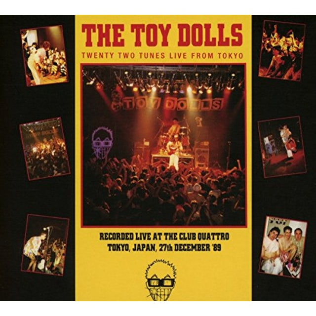 Toy Dolls TWENTY TWO TUNES LIVE FROM TOYKO CD