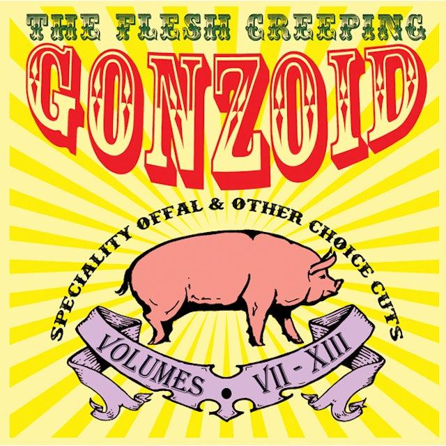 Andrew Liles FLESH CREEPING GONZOID CD