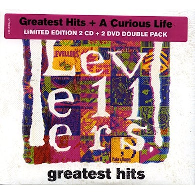 The Levellers GREATEST HITS & A CURIOUS LIFE CD