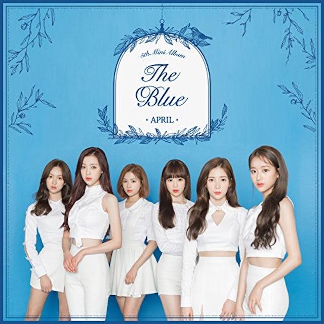April BLUE CD