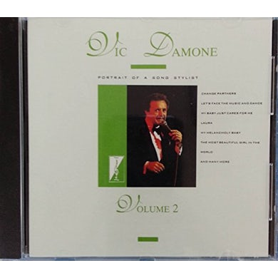Vic Damone PORTRAIT OF A SONG STYLIST 2 CD