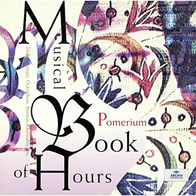 Pomerium MUSICAL BOOK OF HOURS CD