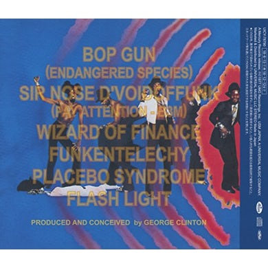 Parliament FUNKENTELECHY VS THE PLACEBO SYNDRO (DISCO FEVER) CD