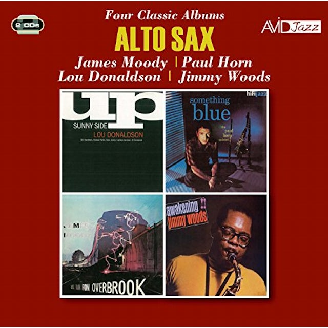 James Moody LAST TRAIN FROM OVERBROOK CD