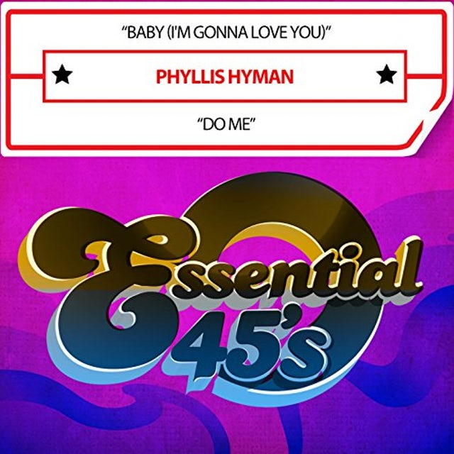 Phyllis Hyman BABY (I'M GONNA LOVE YOU) / DO ME (DIGITAL 45) CD
